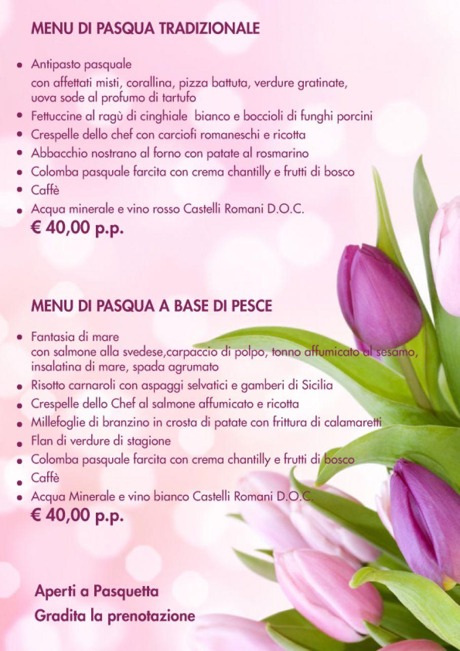 Pasqua 2017 ristorante il pozzo for Secondi romani
