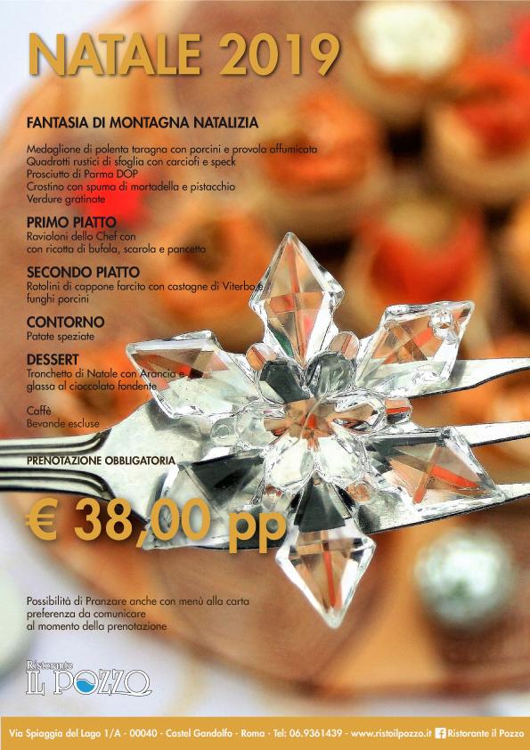 menu Natale 2019